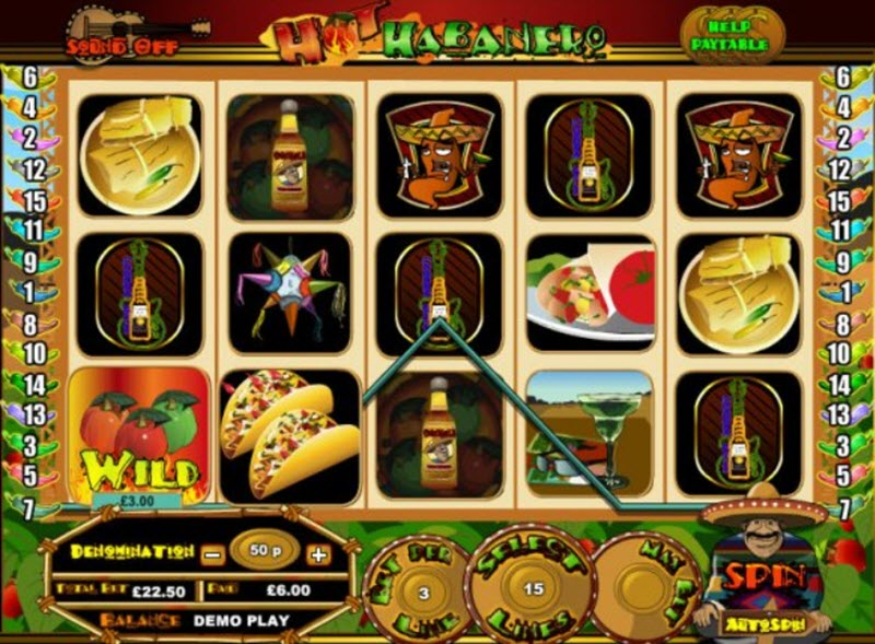 hot habanero slot